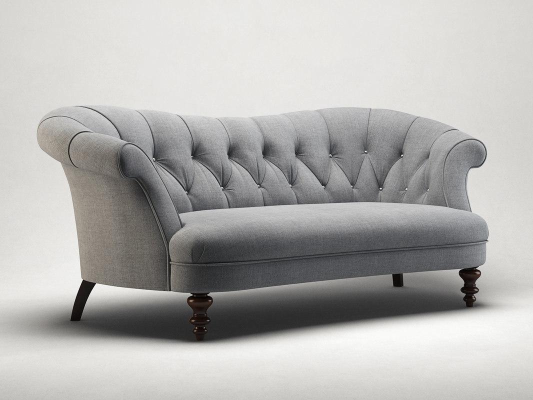hayworth sofa 3D model