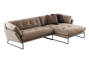 new york corner sofa 3D