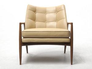 3D draper lounge chair