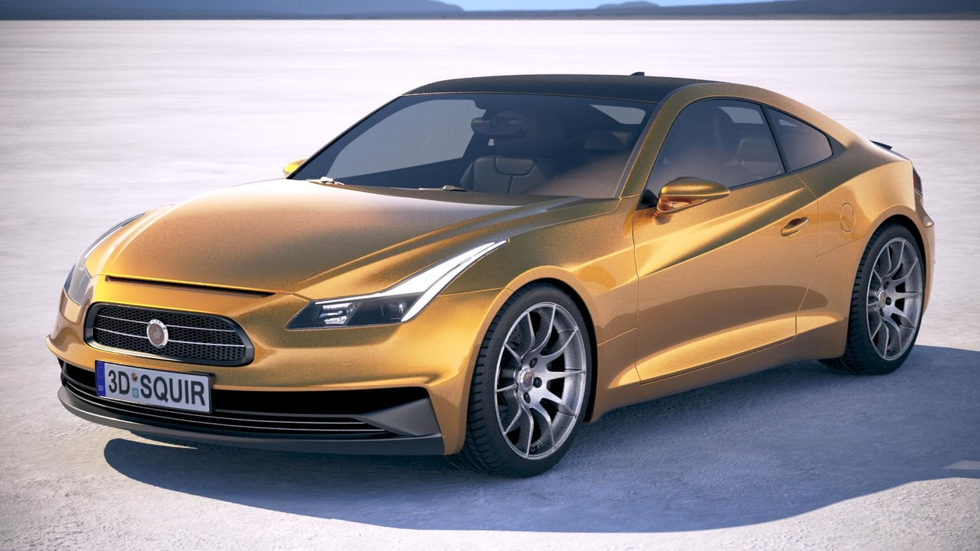 3D generic coupe rs model