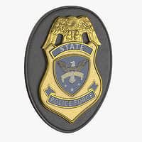 Police Badge 02 (Modern)