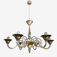 3D model chandeliers sylcom dolfin 1382