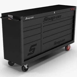 tool storage black 3D