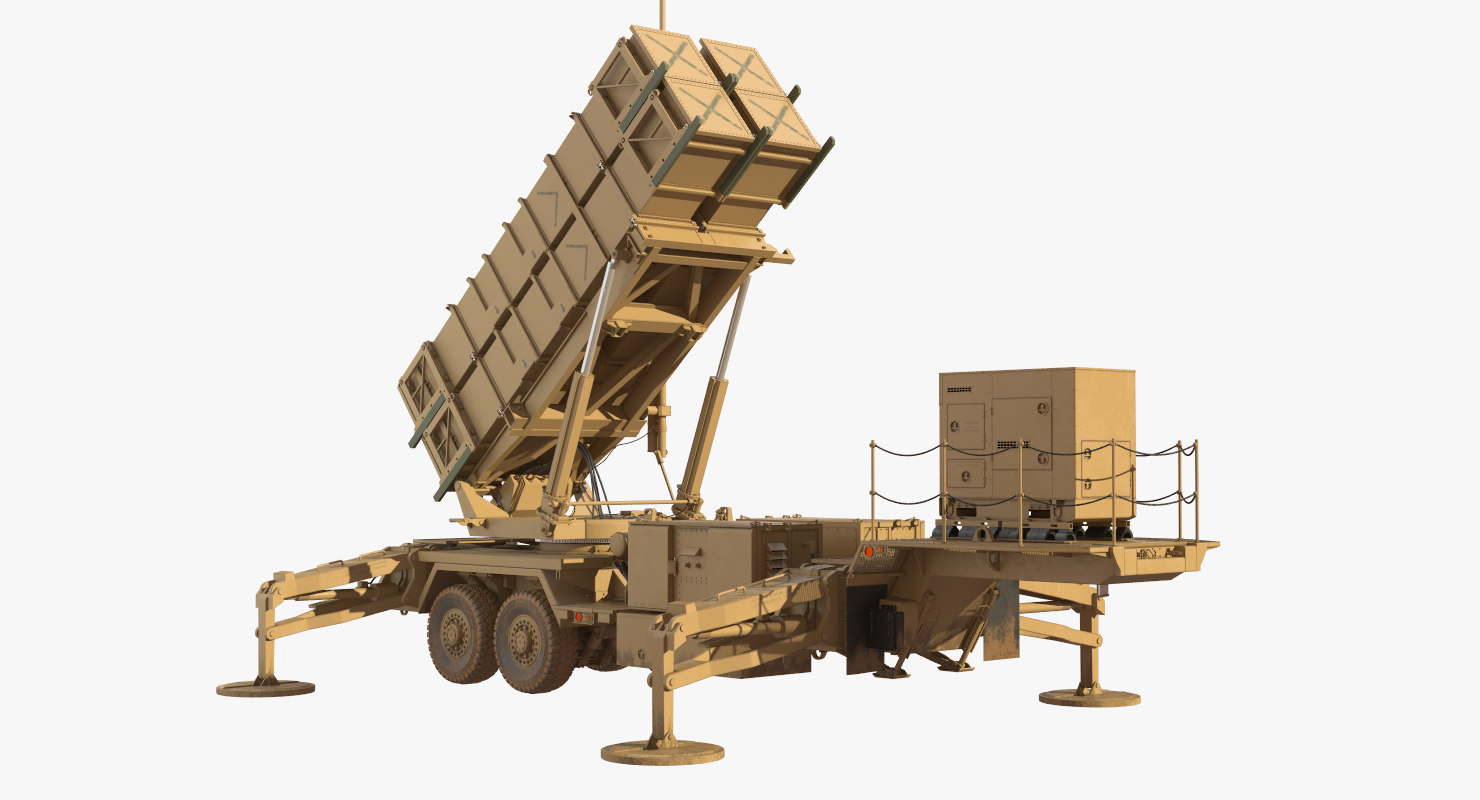 mim-104 patriot sam 3D model