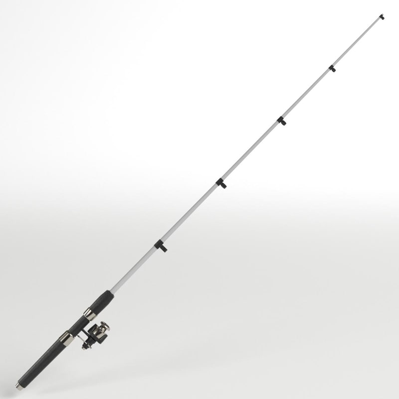 3D fishing rod 2