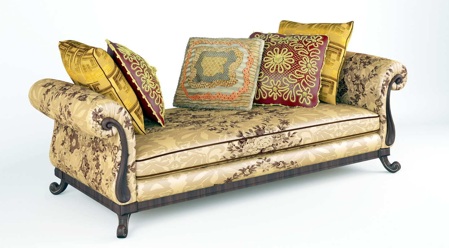 3D royal sofa pillows