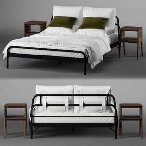 3D loopa bed model