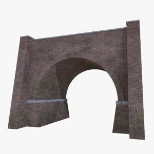bridge 4 3D model