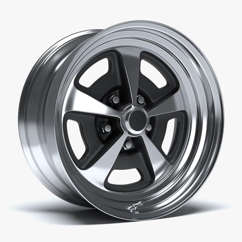 magnum 500 wheel 3D model