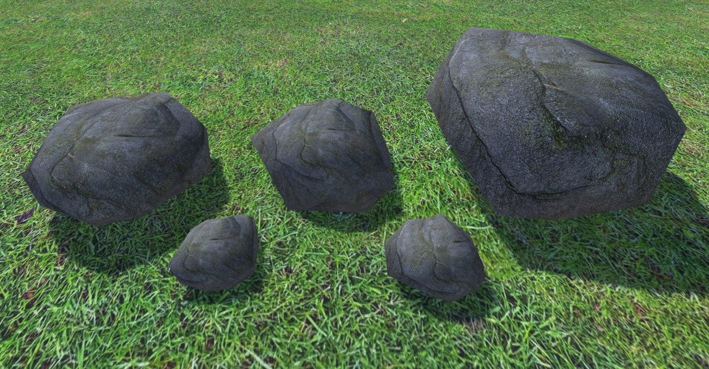 3D ultra rocks