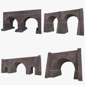 3D brick bridges 1
