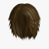 3D hairstyle 2 hair