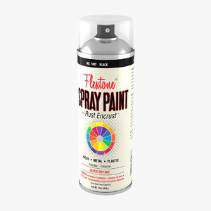spray paint 3D model