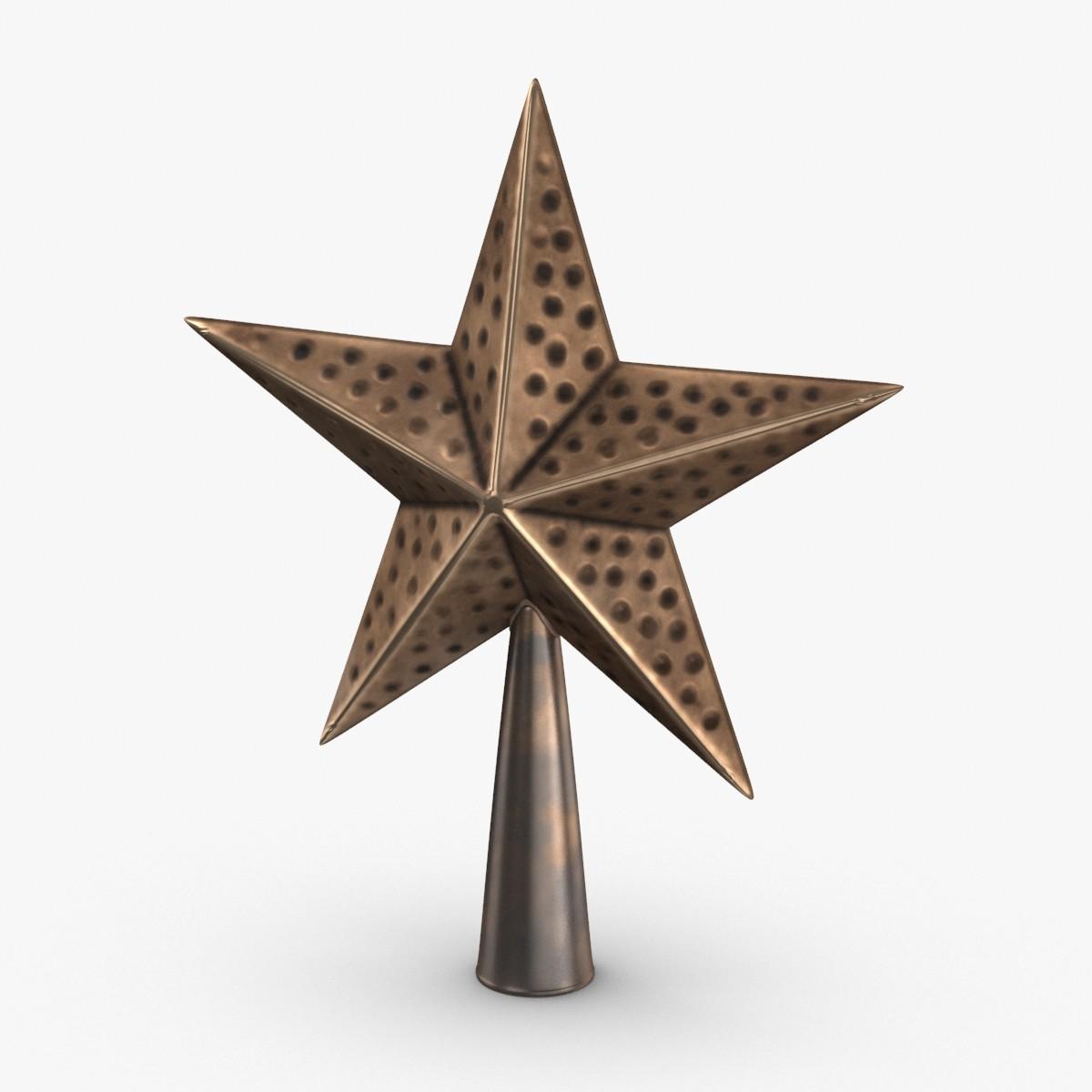 star-topper-03 3D model
