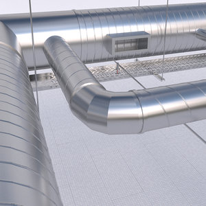 duct cable tray 3D