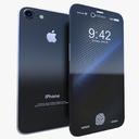 apple iphone 8 3D models