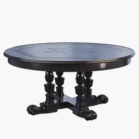 3D table cnc model