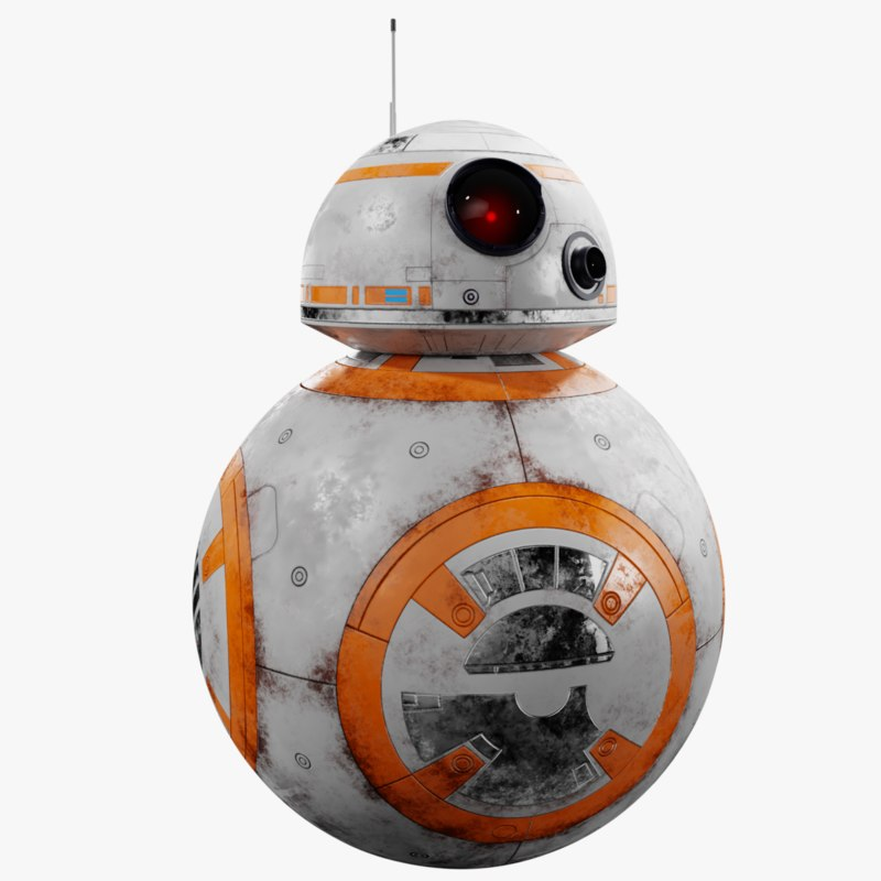 3D bb8 droid