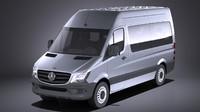 Mercedes-Benz Sprinter Passenger Van 2017 VRAY