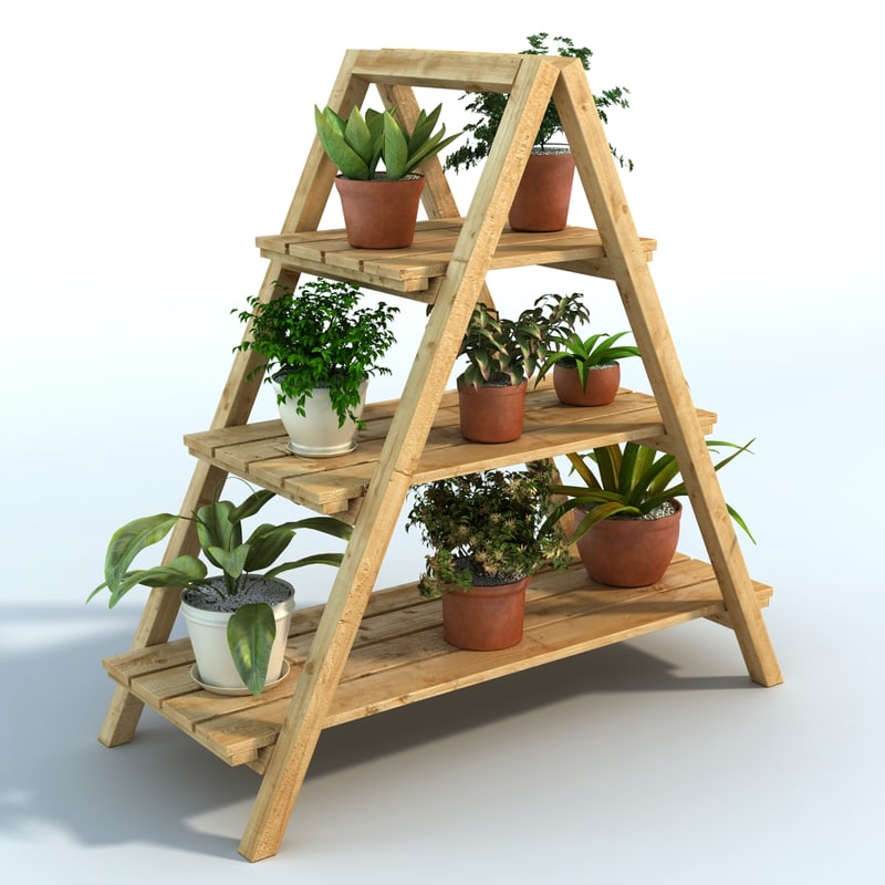 plant stand 3D