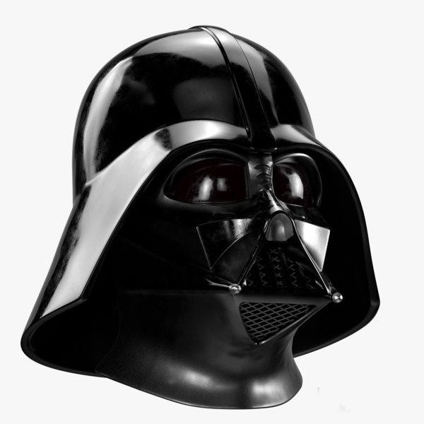 darth vader helmet 3D model