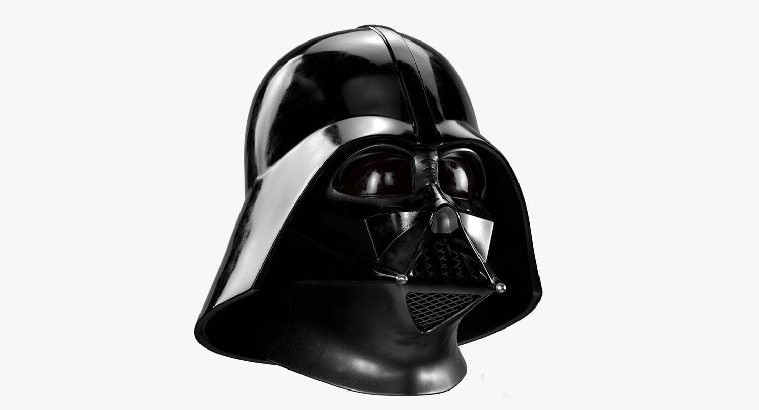 Darth Vader Helmet 3d Model Turbosquid 1160176