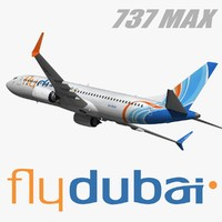 boeing 737 flydubai model