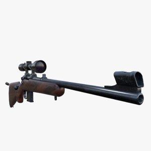 carbine cz 527 3D model