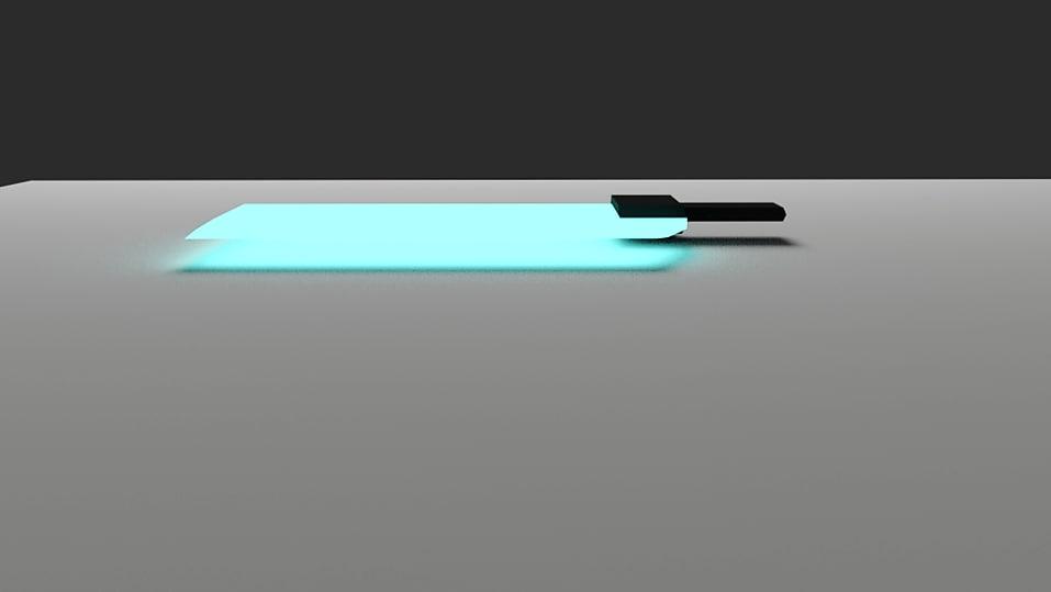 size sword 3D model
