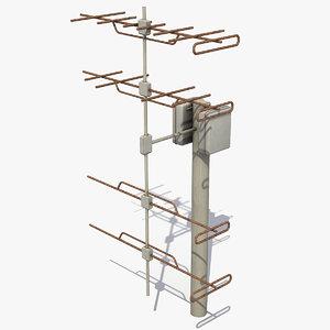 2 modeled 3D model