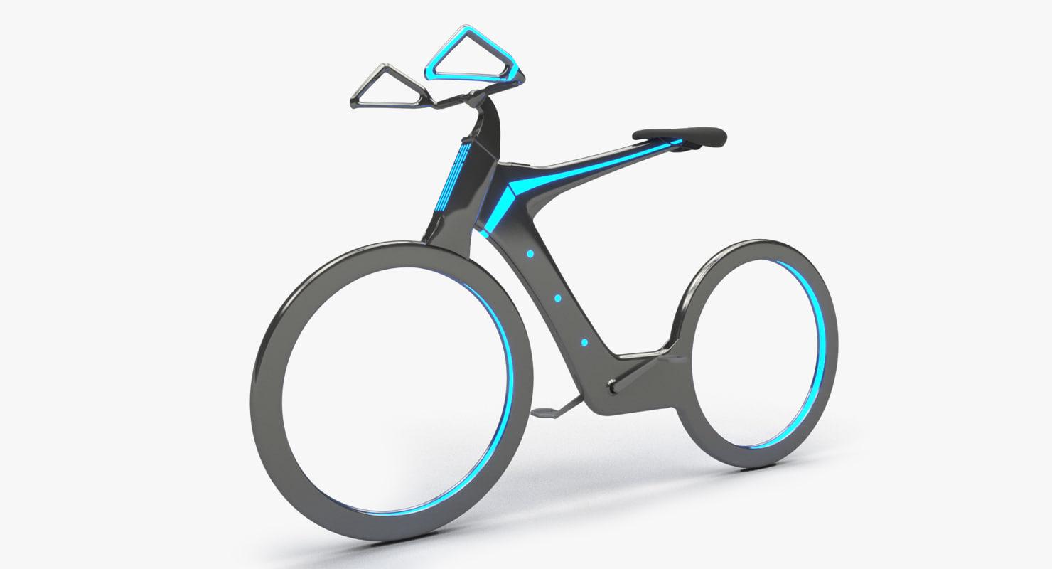 3D future bike