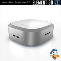 3D acer revo base mini
