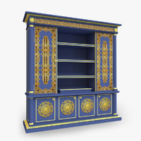 ethnic cupboard model