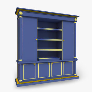 basic cupboard 3D model