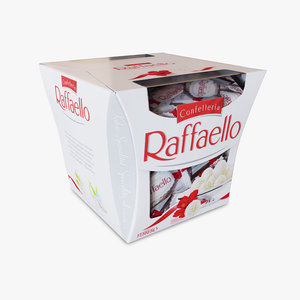 3D model rafaello box