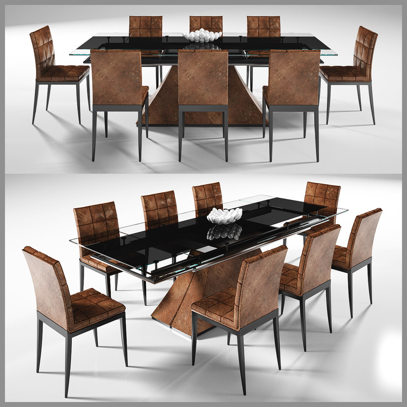 3D dinning table 4