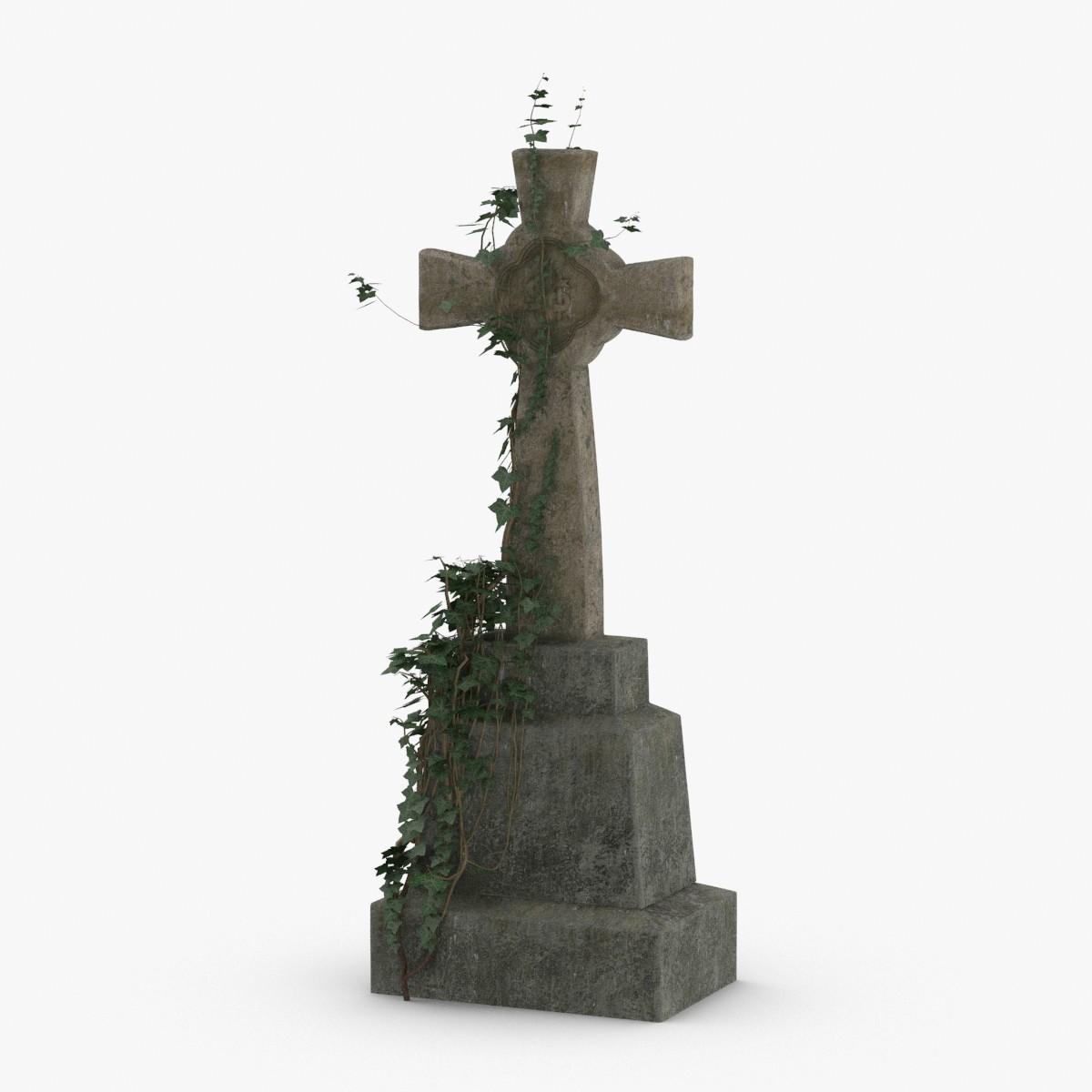 headstone-crosses---cross-01 model