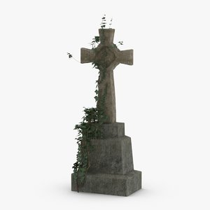 headstone-crosses---cross-01 model