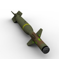 gbu - laser guided 3D model