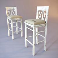 Bar stool. Loft style.