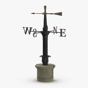 3D model weather-vane-01