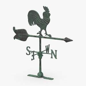 weather-vane-02 3D model
