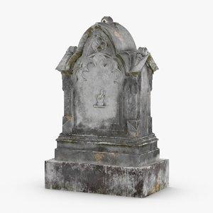 headstones-01---headstone-01 3D model