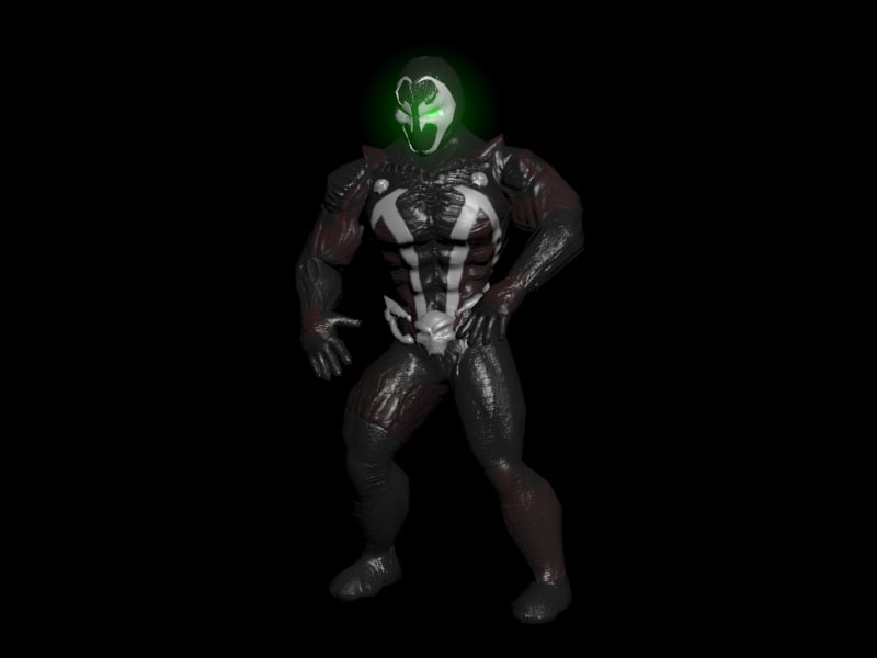 hell spawn 3D model