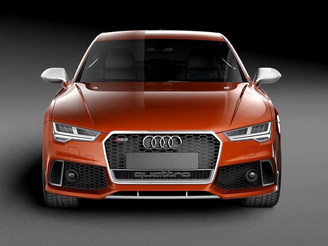 3D car audi rs7 sportback