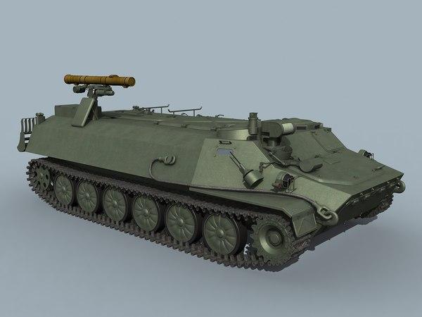 3D at-9 spiral-2 model