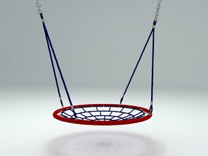 children seesaw nest 3D