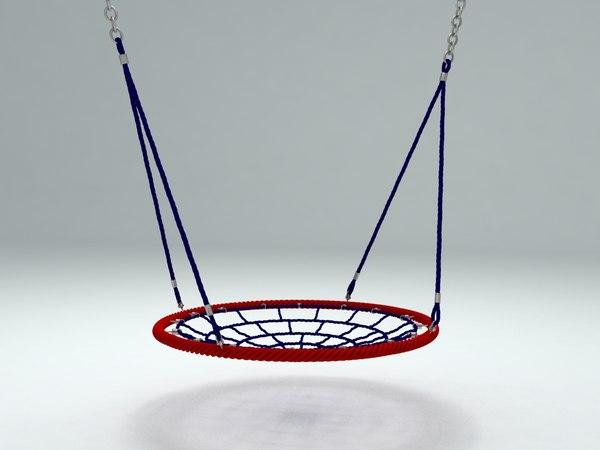 children seesaw nest 3D