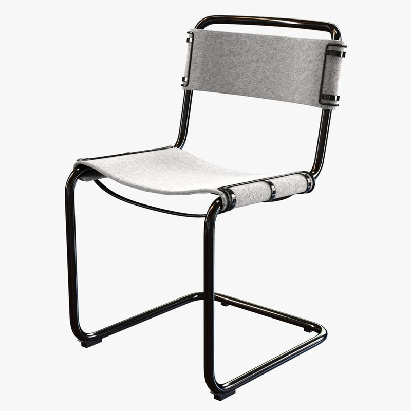 chair coco republic rex 3D model