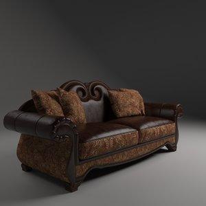 3D sofa tuscano